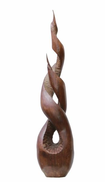 SPOLOČNÁ TÚŽBA - DIVÁ ČEREŠŇA, 1996, 98 cm